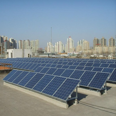 Commercial grid solar system